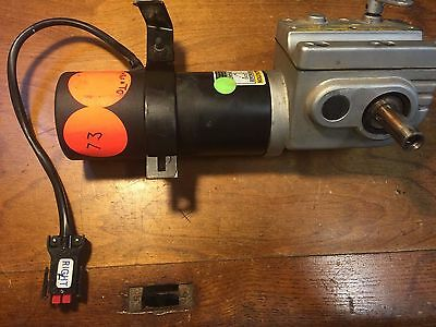 Mobility Scooter Motor - Invacare Right Side W/Gear Box Part #1106490 - M73