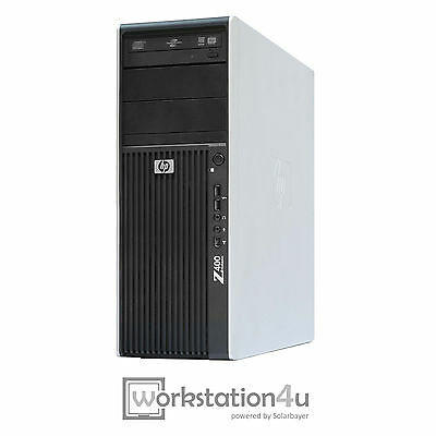 HP Z400 Workstation Xeon X5672 3,2GHz 16GB RAM 128GB SSD 1TB HDD Quadro 2000 W10