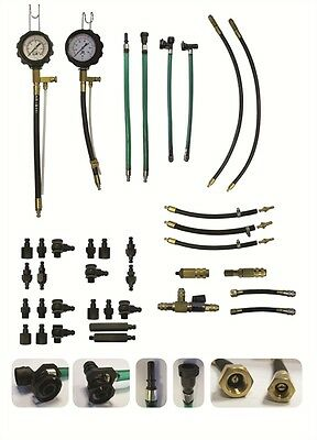 Sykes Pickavant Combined Fuel Injection Pressure Test Kit for Petrol Engines