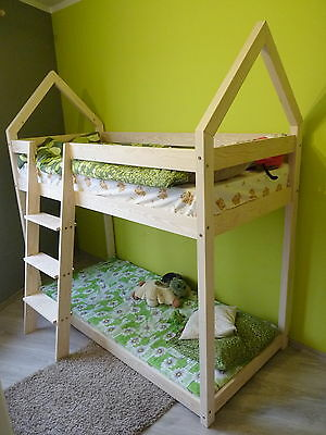 Children bed House Without Mattress 8 dimensions Kids BUNK BED LOFT BED FRAME