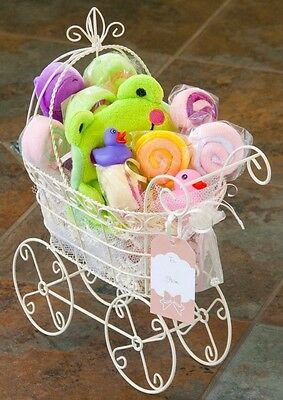 Bath time Baby Girl Gift Basket