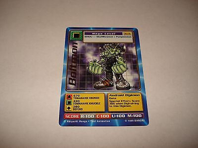 Bandai Digimon Gold Text Card Bo-41 Boltmon 1St Edition-Great Condition