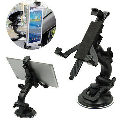 """Universal Car Windshield Suction Cup Clip Mount Holder Stand for 5""""~8"""" Tablet"""