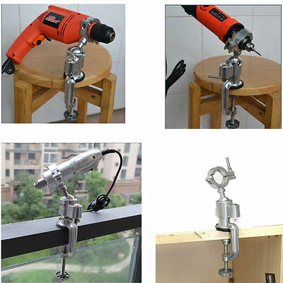 Clamp Grinder Holder Bench Vise Vice Electric Drill Stand Dremel Rotary Holders