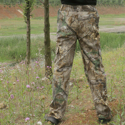 Hunting Tactical woodland camouflage pants trousers for camping Hiking Fishing