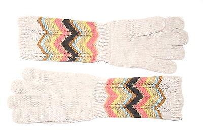 75caf2045a0f MISSONI FOR TARGET Girls Knit Colore Chevron Gloves Mittens Mint ...