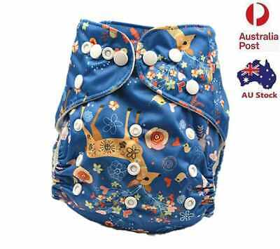 New Reusable modern Baby Cloth Nappies Diapers Adjustable newborn nappy (D89)