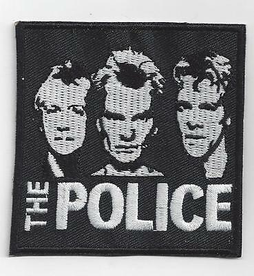 The Police   Retro  Iron On Patch.