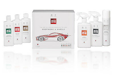 Autoglym Perfect Wheels & Bodywork Collection Kit Car Care Cleaning Gift Set