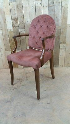Retro Vintage Bedroom Chair - Shabby Chic? French? Upcycle?