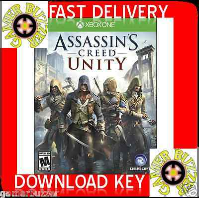 Assassin's Creed Unity XBOX ONE CD-KEY GLOBAL    (NO DISC)