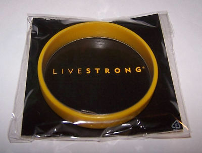 New Nike Livestrong Cancer Yellow 100% Authentic Bracelet Xs-M Wristband