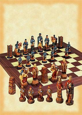 SAC A157S Hand Painted Battle of Hastings Chess set - NEW - board not included