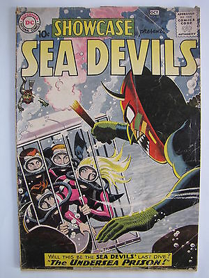 Showcase #28 (Sep-Oct 1960, DC) [G/VG 3.0] featuring the Sea Devils