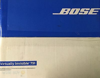Bose Virtually Invisible 791 In-Ceiling Speaker II (White)