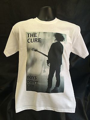 The CURE t-shirt - sizes Small through to 5XL