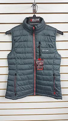Gerbing's Gyde 7 volt Calor Puffer Filled Vest-Womens-Gray