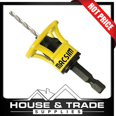 Macsim Counter Sinking Deck Tool 10G Trim Head Clever Pre-drilling  43ACTT10