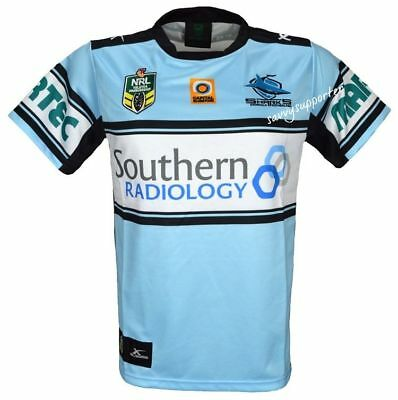Cronulla Sharks 2016 NRL Home Jersey Shirt 'Select Size' S-5XL BNWT