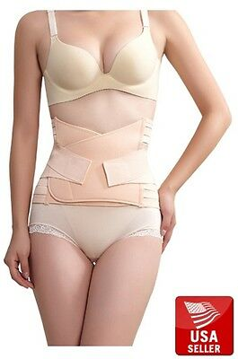 Post-Partum Slimming Belly Band Waist Belt Corset for Strong Lower Back Support