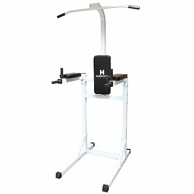 Hardcastle Vkr Power Tower Pull/push/sit/chin Up Bar Ab Knee Raise Dip Station