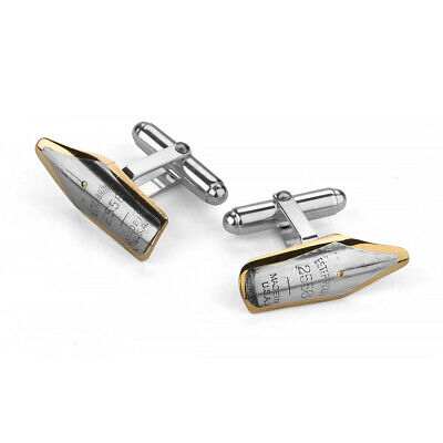 NEW Tokens & Icons Pen Nib Cufflinks