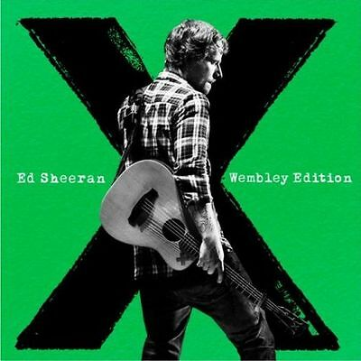 ED SHEERAN X WEMBLEY EDITION NEW CD/DVD Available Now