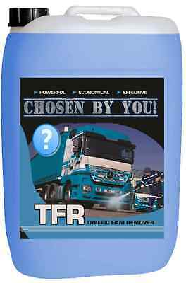 25 Litre Traffic Film Remover Tfr Car Truck Bus Caravan 25L *chosen By You*