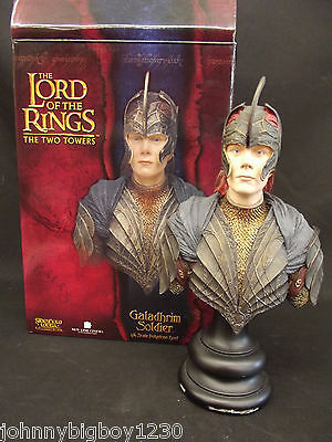 Lord of the Rings Galadhrim Soldier Sideshow Collectibles 1/4 Scale Bust