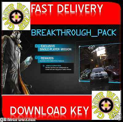 Watch Dogs - Breakthrough Pack DLC PC Uplay  Key WORLDWIDE  (NO DISC)
