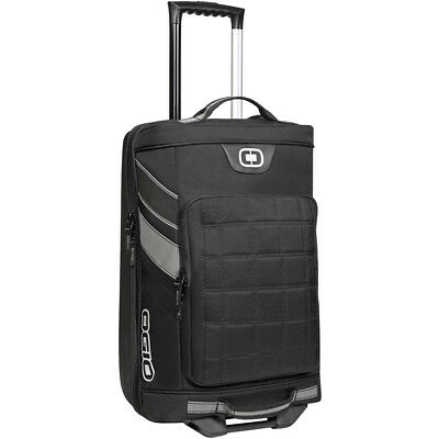 Ogio NEW Mx Tarmac 20 Black Silver Luggage Gear Motocross Wheeled Travel Bag