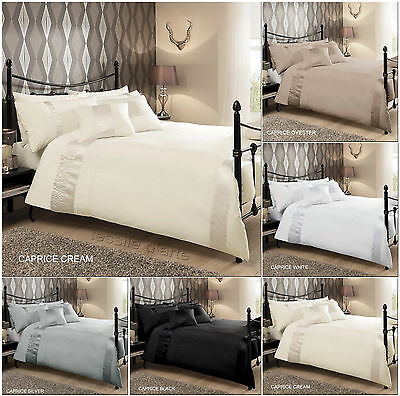 Luxurious Duvet Cover With Pillowcase Quilt Cover Bedding Set CAPRICE All Sizes