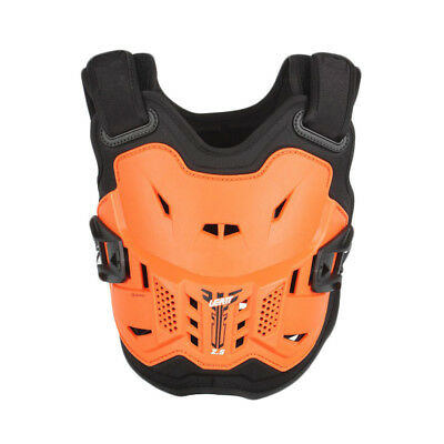 Leatt NEW Youth Mx 2.5 Orange Chest Protector Guard Motocross Kids Body Armour
