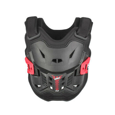 Leatt NEW Youth Mx 2.5 Black Chest Protector Guard Motocross Kids Body Armour