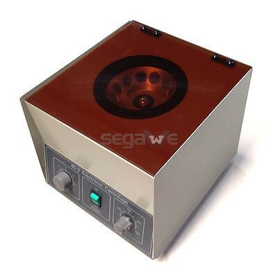 HOT Electric Centrifuge Machine Lab Medical Practice 110V 4000 rpm 20ml x 6