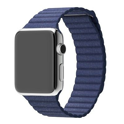Mobiletto Apple Watch 42mm Magnetic Loop Armband blau