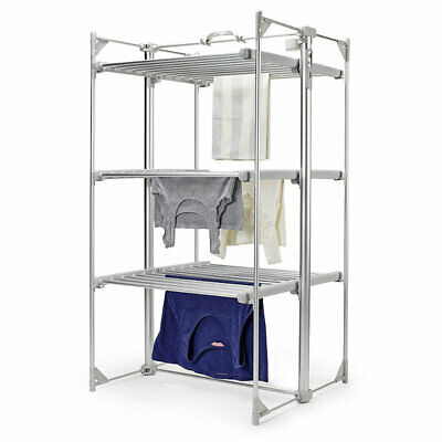 Lakeland Dry-Soon Deluxe Electric 3 Tier Heated Indoor Clothes Airer