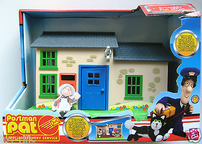 Postman Pat Greendale Post Office With Mrs Goggins Figure -  Brand New!