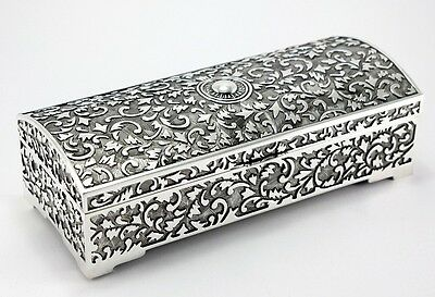 Jewellery Box For Rings Earrings Chains with Mirror