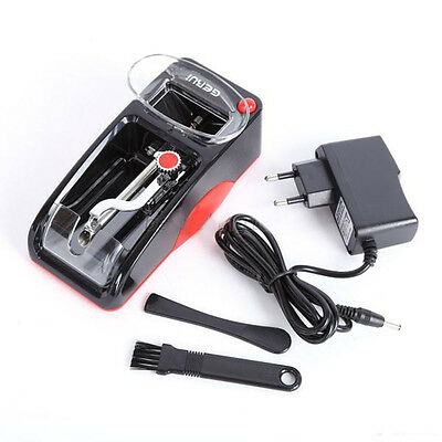 Electric  Cigarette Roller Automatic Injector Maker Machine + Adapter