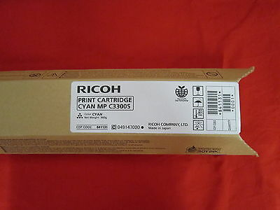 Ricoh MP C3300S Cyan Toner Cartridge 841131
