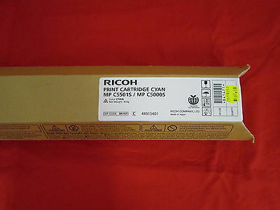 Ricoh MP C5501S MP C5000S Cyan Toner Cartridge 841471