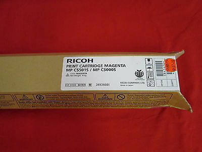 Ricoh MP C5501S MP C5000S Magenta Toner Cartridge 841470