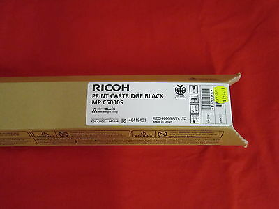 Ricoh MP C5000S Black Toner Cartridge 841164
