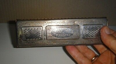 """Rare Antique 1887 """" TRIUMPH """" Double Sided M. Hohner Harmonica - Germany"""