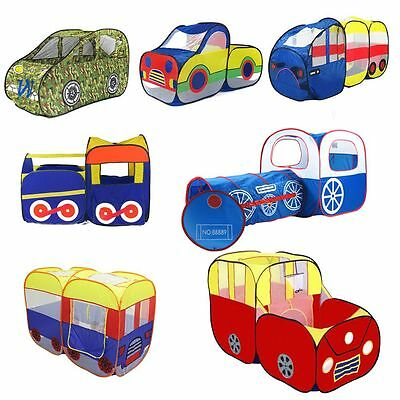 Children's Playtent Play House Kids Play Tents Indoor Outdoor Various Car Styles