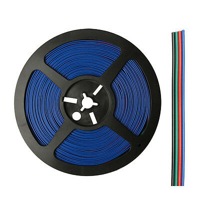 WOW - 5M 10M 20M 4 Pin Extension Connector Cable Cord 3528 5050 RGB LED Strip