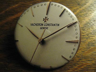 Vacheron Constantin Pocket Mirror - Repurposed Magazine Watch Ad Lipstick Mirror