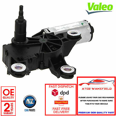Vw Sharan Seat Alhambra Genuine Valeo Rear Windscreen Wiper Motor 2 Year Warrant