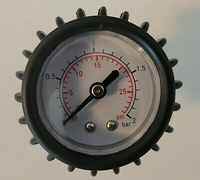 SATURN air pressure gauge for Avon Achilles Mercury Zodiac Inflatable Boats
